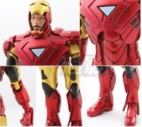 "Free shipping 2013 New Diamond Marvel Select Avengers Iron Man Tony Stark 7"" Action Figure"