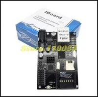 5pcs/lot IBOARD W5100 Ethernet Module for Arduino Development Board with POE / Xbee and SD Card Slot Expansion