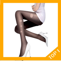 Free shipping New Fashion sexy 20D thin velvet sexy fashion T files are not off the silk stockings with pants wholesale women