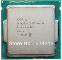 Intel Core i3-4130 CPU (3M Cache,3.4GHz) SR1NP,LGA1150,Tray,Dual Core Desktop CPU Compatible H87 Q87 Q85 Z87 H81 B85