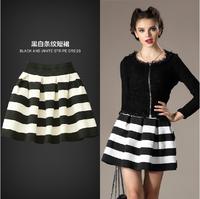 Женская юбка summer high waist vintage polka dot expansion bottom sheds full dress bust skirt fashion for women