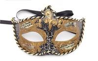Halloween masquerade party performing the wedding Princess Venetian mask beautiful woman half face
