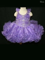 LITTLE ROSIE NATIONAL LEVEL GLITZ PAGEANT DRESS SZ 18M