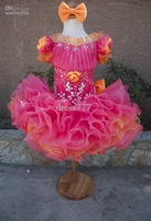 BEAUTIFUL GLITZ CUPCAKE PAGEANT DRESS TODDLER OR GIRL