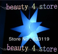 Free shipping hot sale Led lights inflatable decoration star