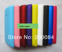 DHLSHIP 50pcs hard cases for Nokia Lumia 520 mobile phone bag case matte rubber frosted crystal plastic cover funda capa