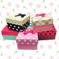 Beautiful watches gift box watch gift box bow aesthetic romantic dot plaid stripe