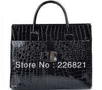 New Korea Style Designer handbag Crocodile pattern women messenger bags retro women's totes one shoulder fashion women handbags
