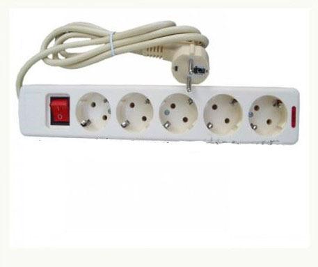 5 post EU wiring board European Extension Socket(China (Mainland))