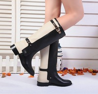 NEW 2013 new arrival  knight boots brand design genuine leather women boots high cool women winter snow boots
