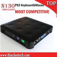 Lower Price Thin Client Net Computer PC Station Zero Client  Resolution 1024x768 16 Bit Support Windows XP/Server 2003
