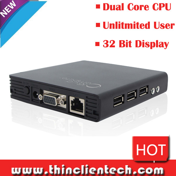 Dual Core 1GHz ARM-A9 RDP 7.1 Cloud Computer Network Terminals Mini PC Station Thin Client Sharing Linux Zero Client(China (Mainland))