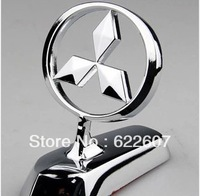 Metal emblem MITSUBISHI luxury type car cover