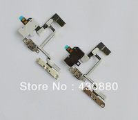 1pcs Headphone Audio Jack Power Volume Switch Flex Cable For iPhone 4 4G Hot Selling Brand New