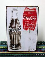 The Coke iron painting Tin Sign Christmas Decoration Poster Metal Art wall Decor J-22