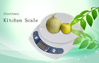1g x 7kg ( 7000g 247Oz 15.4Lb ) 3 Units Portable Digital Kitchen Food Diet Postal Weighting Scale LCD Display Electronic Balance