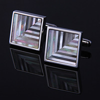 Commercial cufflinks male cufflinks cuff cufflinks natural shell patchwork cufflinks nail sleeve male cufflinks hot-selling