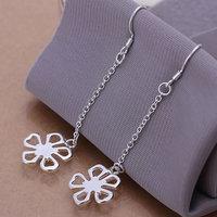 925 silver earrings 925 sterling silver fashion jewelry earrings beautiful earrings high quality Flower Earrings