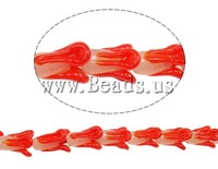Free shipping!!!Handmade Lampwork Beads,Clearance, Vegetable, red, 19x16x16mm, 20PCs/Strand, Sold Per 15 Inch Strand