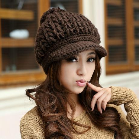 387e1db370a83 Como hacer gorros tejidos de mujer - Imagui