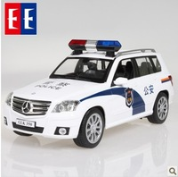 Ultralarge charge double eagle remote control police car child artificial cars toy boy birthday gift
