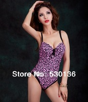 Fashion Nylon Monokini Sport One Piece Plus Size Women Swimwears Swimsuit