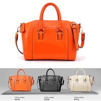 Modern fashion crocodile pattern genuine leather multifunctional handbag cross-body bags vintage women's