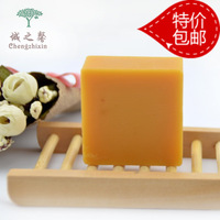 Ginger handmade soap anti-itch anti-hair loss freckle cleansing essential oil soap