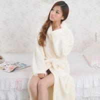 HOT SALE 10 Colors Winter Coral Bathrobes Women Men's bathrobe Robe Night Gowns Thicken Dressing Gown Big Size Lovers Sleepwear