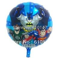 Free shipping 20pcs/lot party foil balloon batman balloon 18inches balloon