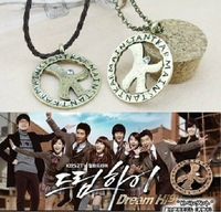 Free Shipping Fashion Jewelry Kpop Style Vintage Women Men Dream High Luck Star Pendant K Necklace F0208