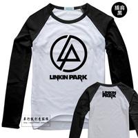 T-shirt long-sleeve 100% cotton high quality memorial linkin park t-shirt 02