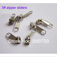 Free shipping 5# metal zipper sliders garment accessories 30pcs/lot