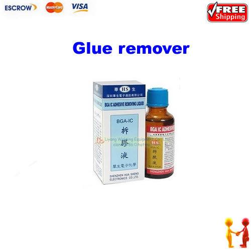 Free Shipping!! BGA IC Epoxy Glue Remover CellPhone chip clean BGA IC adhesive removing liquid(China (Mainland))