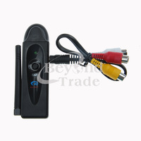 Wireless USB DVR Signal Receiver CCTV Surveillance MINI Camera 4 Channel 2.4G