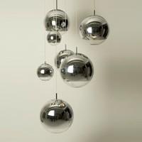 AC110V/220-230V  Mirror Ball Pendant Light electroplating droplight indoor lighting