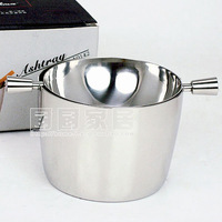 304 stainless steel ashtray gift fashion flip hry-01y