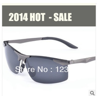 2014 New Classic Fashion Men's Polarized Sunglasses Riding sunglasses Driving Glasses Free Shipping