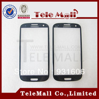 Free Shipping ! Wholesale Original Blue Touch Screen Outer Glass Lens For Samsung Galaxy S3 i9300 L710 i747 WilSTM930000024