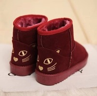 Winter snow boots duomaomao short-leg candy color boots snow  shoes women's