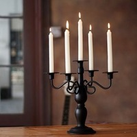 Fashion iron candle table married mousse console table decoration candle romantic candle