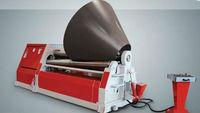 4 Roller Aluminum Plate Bending Machine / 4 Roller Sheet Metal Bending Machine / 4 Roller Stainless Steel Bending Machine