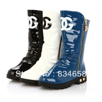 Free shipping 2013 winter girls shoes fashion girl 's  children combat boot boots Martin boots hot!!