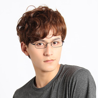 Free shipping Glasses memory titanium alloy full frame myopia ultra-light frame eyeglasses glasses frame male Women