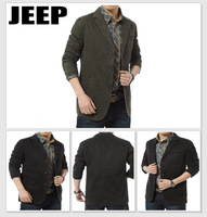 new 2013 cotton men's casual suit suit  Khaki, black, army green Men will suit blazer spring, summer, autumn, winter