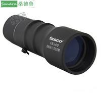 Tasco , telescope 16x40 outdoor telescope blue film monocular telescope