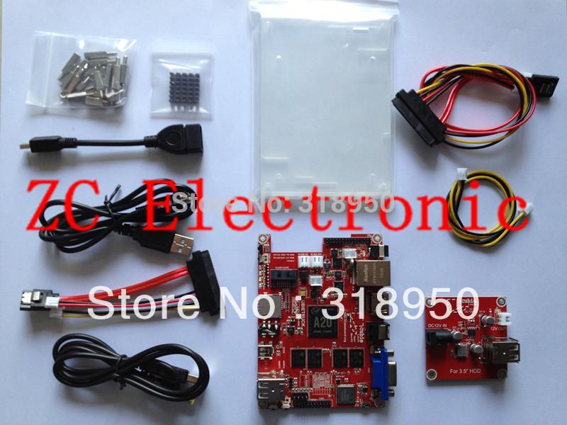 Cubietruck (Cubieboard 3 ) 2GB DDR3 8G NAND Wifi BT + 3.5 inch Hard Disk Cubieboard3(China (Mainland))