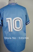 Hot Promotion!Cheap,#10 Vernon Wells Blue Men's  Baseball jerseys Sale,Embroidery sewing labels,Free shipping
