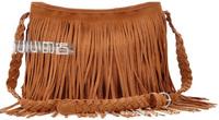 2 colors designers brand 2014 women leather messengers bag lady shoulder vintage bag tassel bag Retail and Wholesale