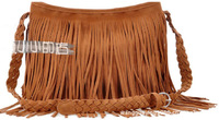 2 colors designers brand 2014 women leather messengers bag lady shoulder vintage bag tassel bag Retail and Wholesale